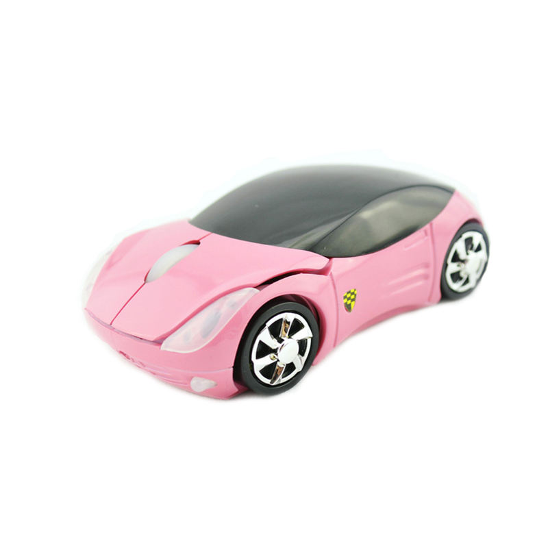 Cute Hot Sale 1200DPI Wireless Mouse Computer Mice Fashion Super Car Shaped Game Mice 2.4Ghz Optical Mouse für PC