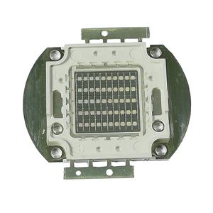 Yüksek güç 100w uv led 395nm, ultraviyole çip 20w 30w 40w 50w 60W 70W 80W COB 100w uv led 365nm