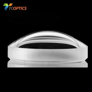 China manufacture large optical lens large convex lens