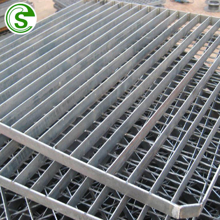 Galvanized compound steel grating/close-mesh steel bar grating