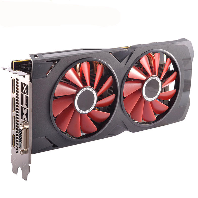 Second Hand Desktops Radeon AMD RX 580 RX580 4gb 2048SP GDDR5 Video Gaming Card