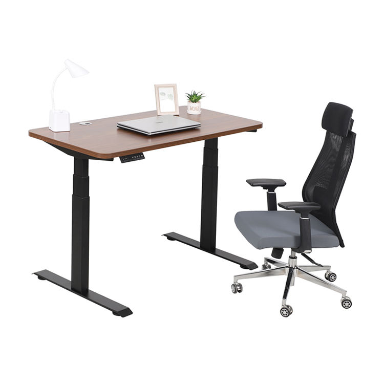 Happyland Professional Modern Office Furniture Adjustable Height Ergonomic Electric Standing Desk Workstation
