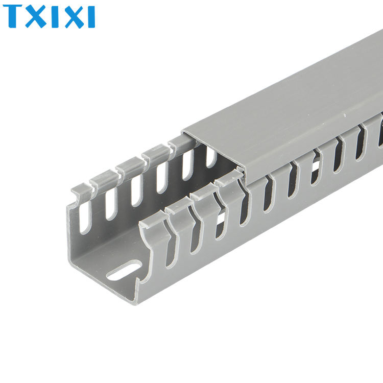 PXC40*40 PVC trunking size wire trunking Cable Channel wiring duct for cable protection