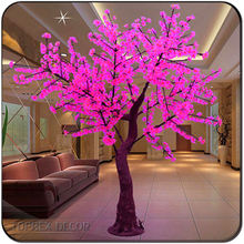 New year decoration light home decor LED cherry tree