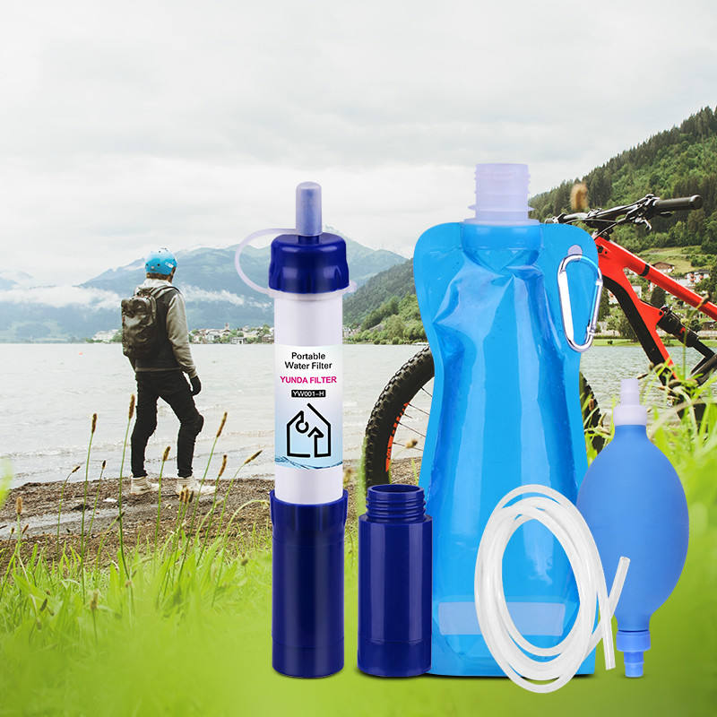 hiking water filter best portable water purifier portable water purifier bottle survival