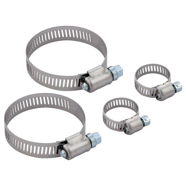 industrial automotive radiator Full size adjustable stainless steel cast iron spring tube Pipe clamp hose clamp for pvc pipes