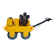 Good Sales 550kg pedestrian baby roller compactor machine For Compaction