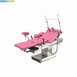 BR-DB35 Guangzhou Linak motor Multifunction Electric Obstetric Hospital for Pregnant woman gyncology obstetric delivery bed