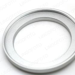 Camera Repairing 43mm to 52mm Metal Step Up Filter Ring Adapter in Silver LC8785