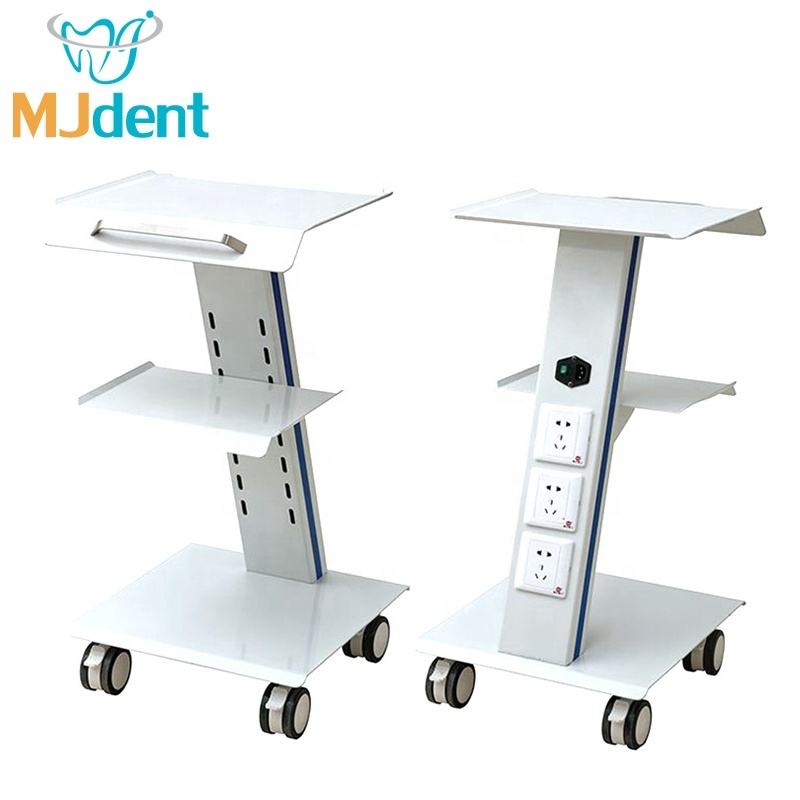 Dental Built-in Socket Tool Cart / Mobile Instrument Cart dental unit / Dental Trolley with swivel wheels and socket