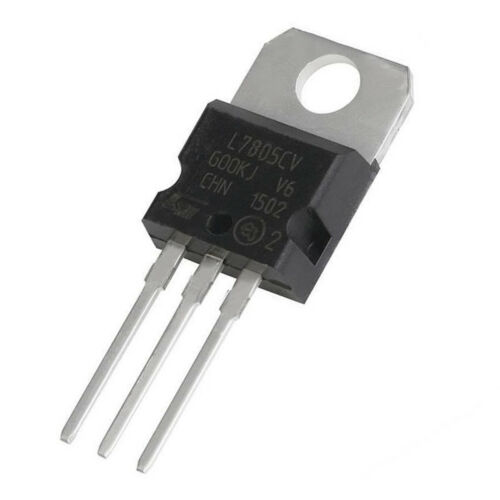 VOLTAGE REGULATOR TO-220 10x Regulador tension L7805CV 7805 5V 1,5A 1.5A