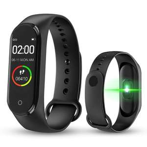 Cheap M4 Smart band 4 Fitness Tracker Watch Sport bracelet Heart Rate Blood Pressure Smartband Monitor Health Wristband