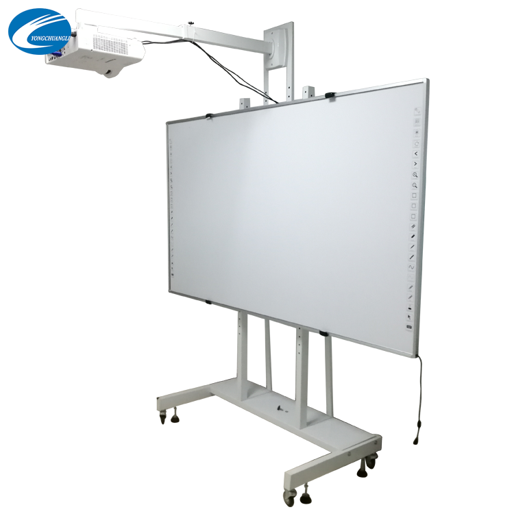 86-Inch Infrarood Vinger Touch Smart Board Interactive Whiteboard Meeting Onderwijs