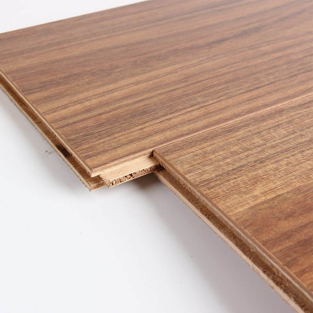 China New Product Wood Grain Timber Flooring, Laminate Flooring Multi-layer Wood Panel