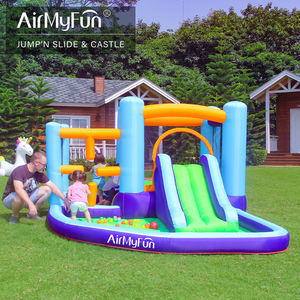 2020 Hot Sale Bounce House Water Slide Jumper Castle Inflatable Bouncer untuk Anak-anak