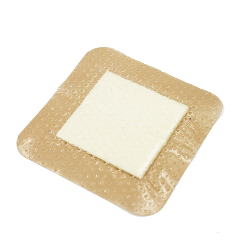 surgical silicone wound gel foam dressing to reduce the scar