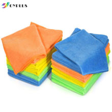 20 PK Hot Selling Microfiber Towel Cleaning Micro Cloth, Microfiber Cleaning Cloth