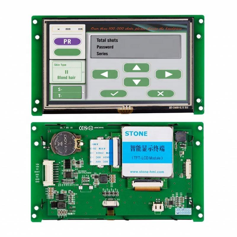 display panel tft lcd color module touch screen 5 inch tft lcd module 480x272