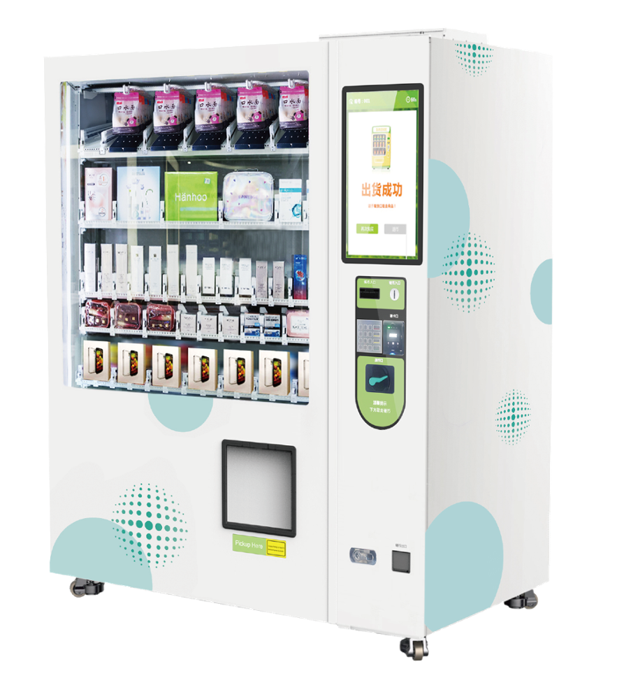 SNBC RI211 Smart and intelligent food beverage snack vending machine small for office airport CBD with Pre-Kit and inventory