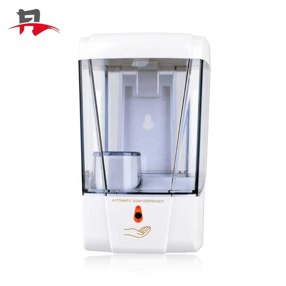 Public place Wall Mounted Hands Free Touchless Hand Wash 700ML Contactless Sensor Automatic Liquid Soap Dispenser