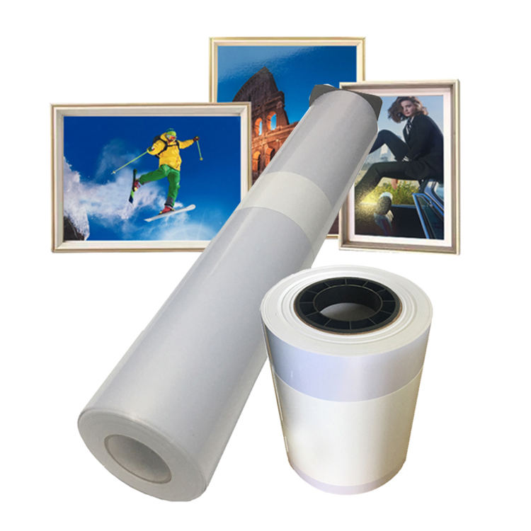 Microporous 260gsm RC Silver Metallic Inkjet Printable Photo Paper in Roll