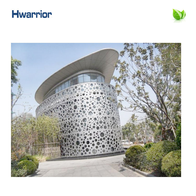 Building [ Wall Panel ] Building Perforated Ventilated Exterior Glazing Facade Aluminium Curtain Wall Panel Sandwich Panel System