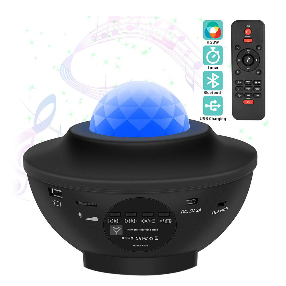 Dropshipping Galaxy Projector Baby Star Night Light, Starry Night Light Projector with Remote Control