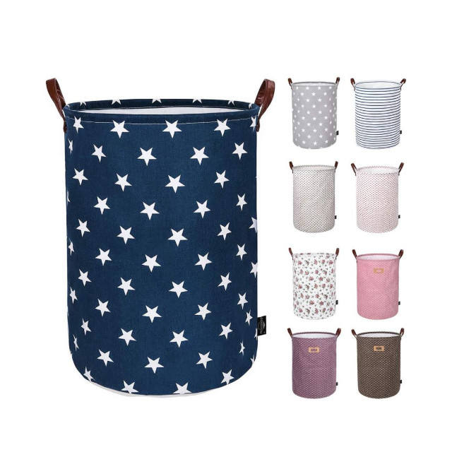 Fabric Laundry Storage Collapsible Laundry Basket