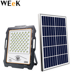 200W Solar Powered LED Floodlight Garden Floodlight Solar Outdoor Wall Light Waterproof Street Light