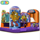 5 in 1 combo or inflatable jumping giant scooby doo bouncing castle