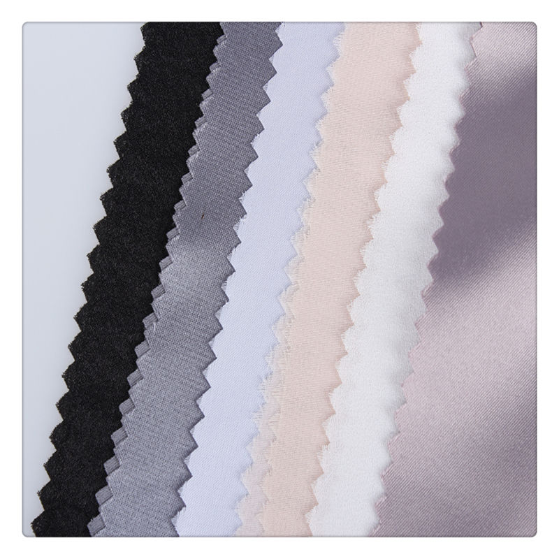 Good Quality matt satin fabric 200D Polyester dull face satin fabric For Dress