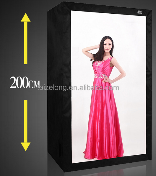 Fashion DEEP LED Professional LED Photo Studio Video Lighting Tent with LED Light Portable Softbox Box 120x 80 x 200cm tent kit