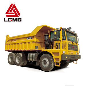 LGMG heavy duty 4X4 drive wheel 45 tons mining dump truck tipper for sale