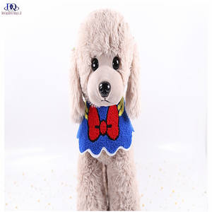 DreamJing Pet Saliva Cloth Dog Cat Neck Bow Tie with Adjustable White//Pet Tie Wedding Costume Party Bow Tie