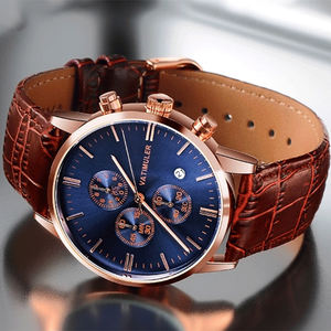 Luminous Design Luxury Fashion watch mens wristwatches western wrist watches