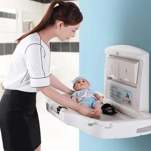 Factory main product baby changing station eco-friendly material folding baby changing table