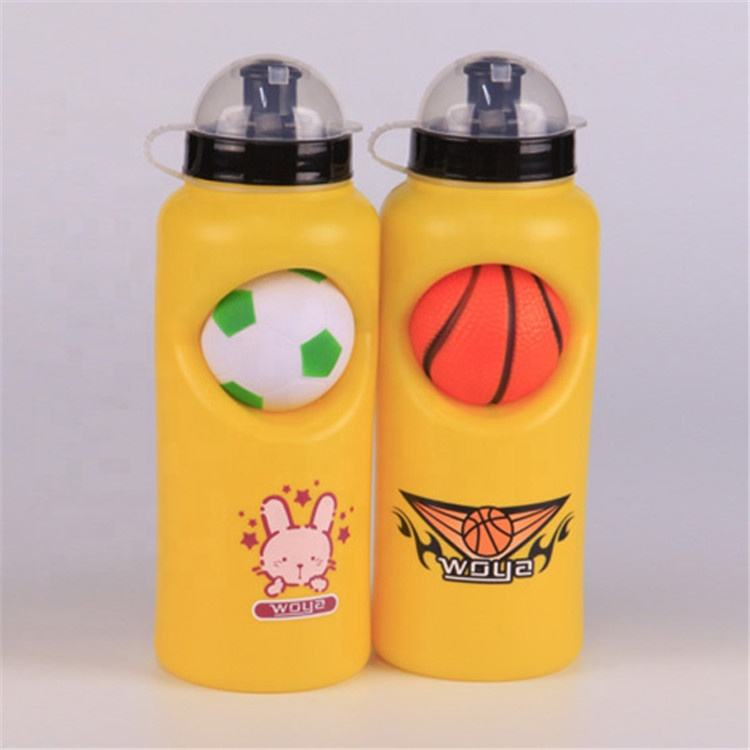 Good Reputation Unique Design Brand Custom Mini-Ball Lid Plastic Water Bottle With Logo
