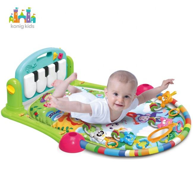 Konig Kids Educational Piano Mat Musical Baby Piano Mat Multi-function Baby Play Mat