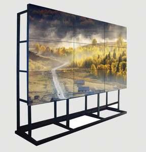 Ultra Narrow Bezel broadcast video wall lcd stazione 55 pollice cctv monitor tv parete con l'alta definizione