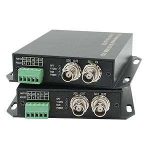 1080p support RS232 RS485 SDI mini optical fiber extender