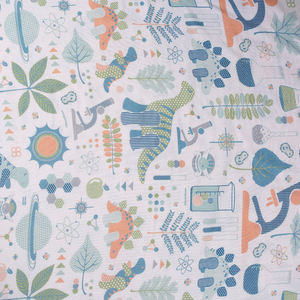 Woven printed mexican print bamboo lining fabric for bedding