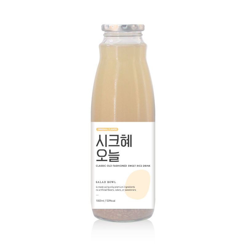 Chichye Oneul 1000ml Healthy Sweet Rice Punch Juice Korean Traditional Delicious Drink Beverage