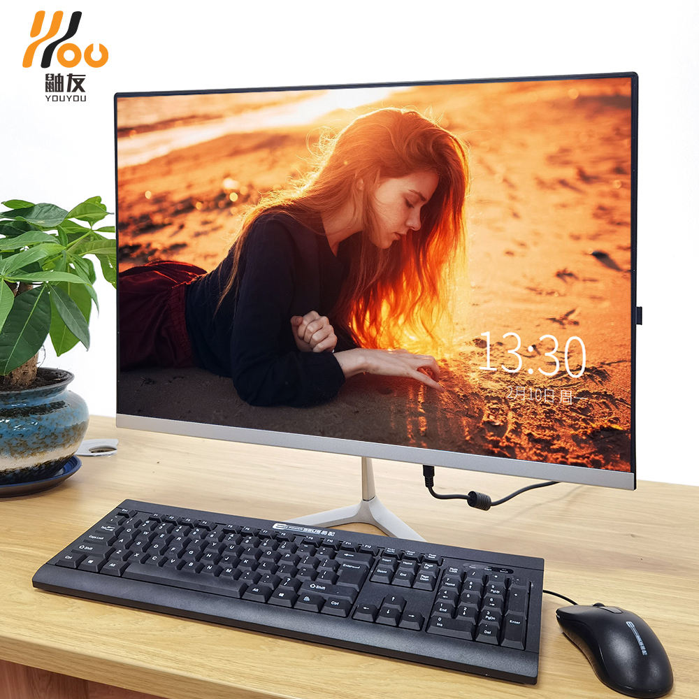 YOUYOU all in one 19.1 inch screen desktop computer core i3 i5 processor ddr3 2/4/8G RAM Memory 120/ 240GB SSD 320GB HDD aio pc