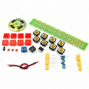 Keyboard Parts Eight-note Keyboard Electronic Production Kit DIY Fun Production