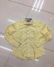 Multicolor Cheap price Lady's stripe long sleeve shirt stock
