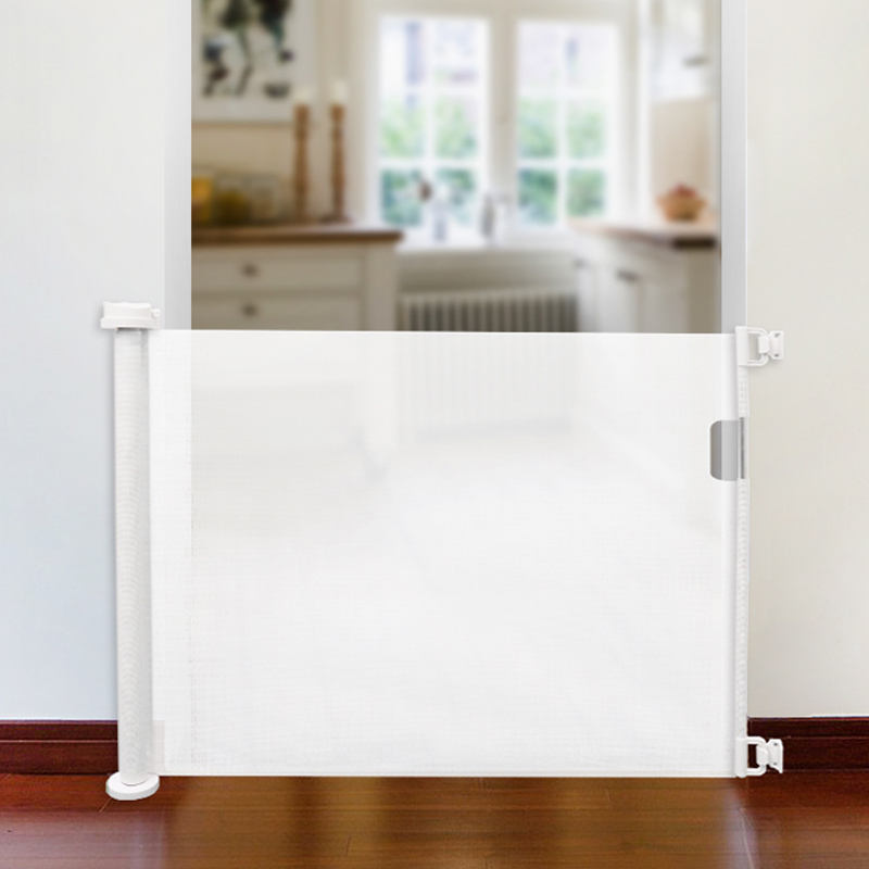 New retractable baby safety sliding gate Adjustable Baby Gate