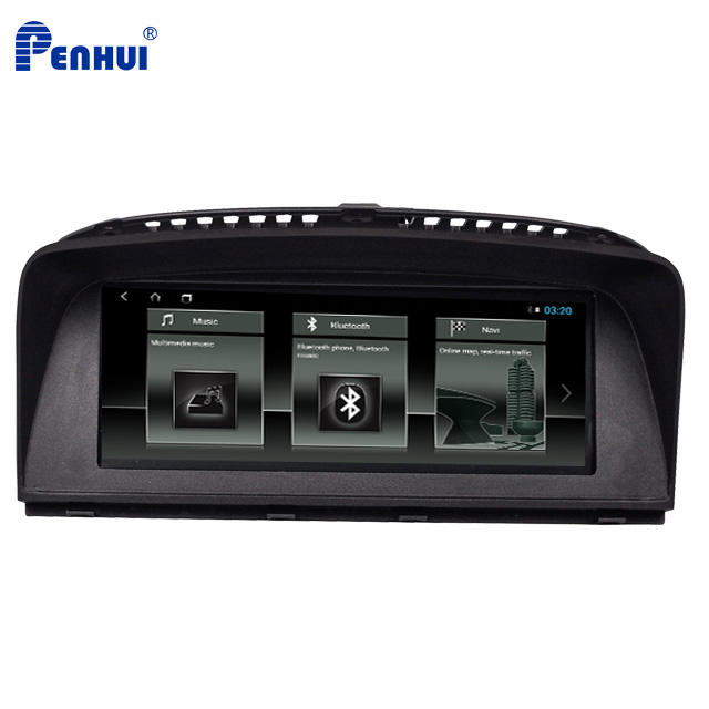 Android 8.1 Car DVD GPS Multimedia Player for BMW E65/E66 7-Series (2004-2008) with 8.8
