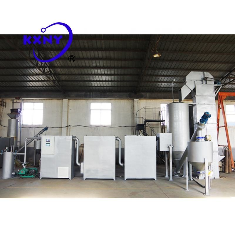 High Efficiency 50kw Biomass Gasifier Generator,Sawdust burns to generate electricity