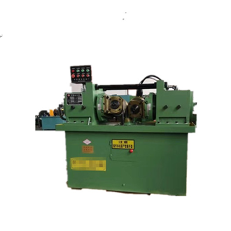Automatic cnc rebar steel bar threading rolling making cutting knurling machine price