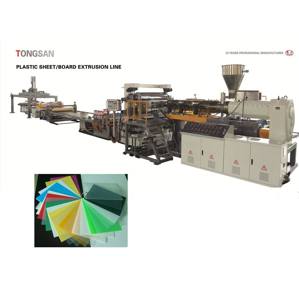 1-6 Mm 1600 Mm Plastic Abs Sheet Extrusie Lijn/Heupen Pmma Plaat Productielijn/Pp Pe sheet Making Machine
